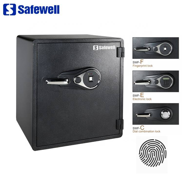 OEM Customized Electronic Safe Box - Safewell SWF2420F Big Heavy Fireproof Fingerprint  Home Biometric Safe Box – Safewell