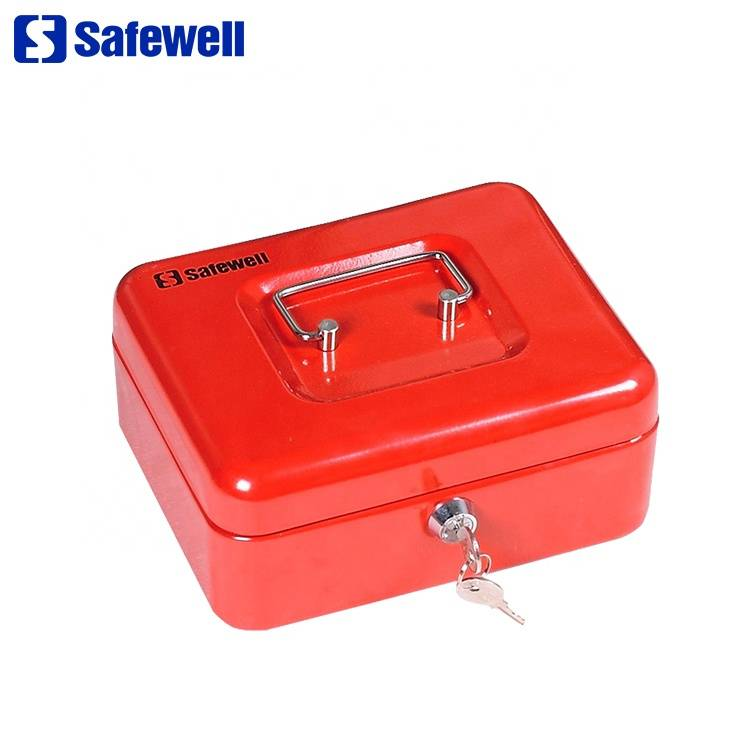 Hot-selling Portable Metal Cash Safe - Safewell YFC-20 Mini Portable security key lock steel cash deposit box – Safewell
