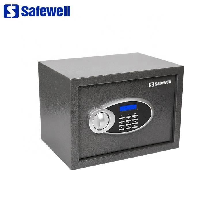 Manufactur standard Heavy Duty Fireproof Electronic Office Safe - Safewell 25EUD 16 L  mini electronic digital safe box – Safewell