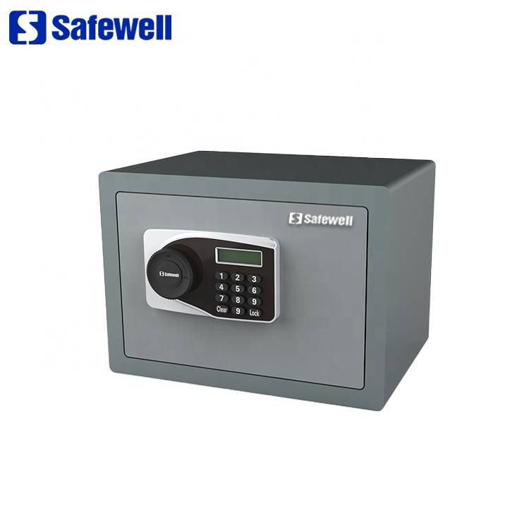 2017 New Style Mini Home Use Digital Lock Safe - Safewell BLY Series electronic digital LCD display Code Safe Box for Home Office – Safewell