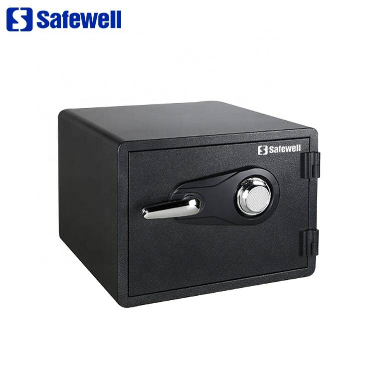 Excellent quality Convenience Store Use Money Safe - Safewell SWF1418C small metal cheap fireproof safe box – Safewell