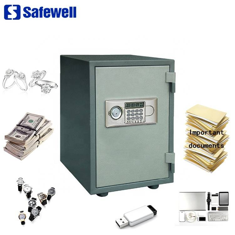 Safewell YB-500ALD 20L Anti-theft Steel Digital Electronic Fire Safe Box
