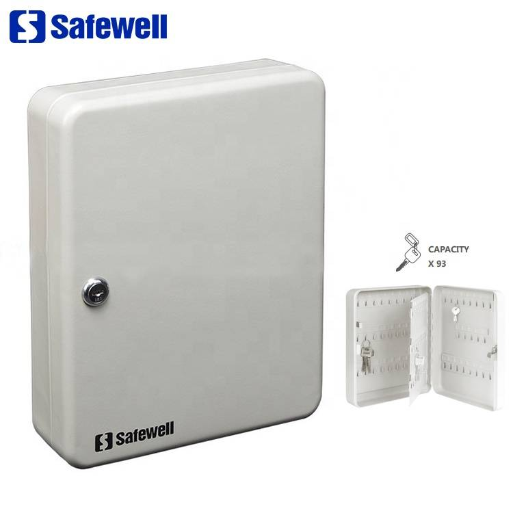 New Fashion Design for Intelligent Electronic Hotel Safe Deposit Box - Safewell 30K-93 93-keys Wall Mounted Hotel Key Box – Safewell