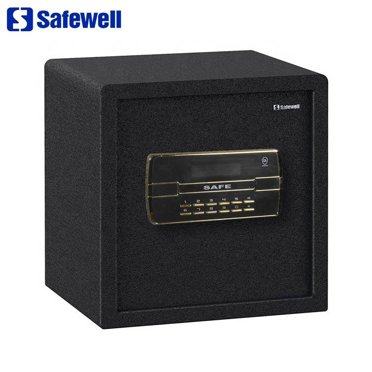 China wholesale Mini Lock Security Safety Box For Hotel - Safewell 38BLK Office Electronic Jewelry Fireproof Material Hidden Furniture Safe – Safewell
