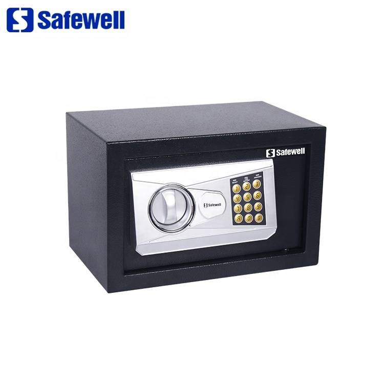 OEM Supply Hotel Room Safe  Keeping Box - Safewell 20NEA digital code electronic wall safe box – Safewell