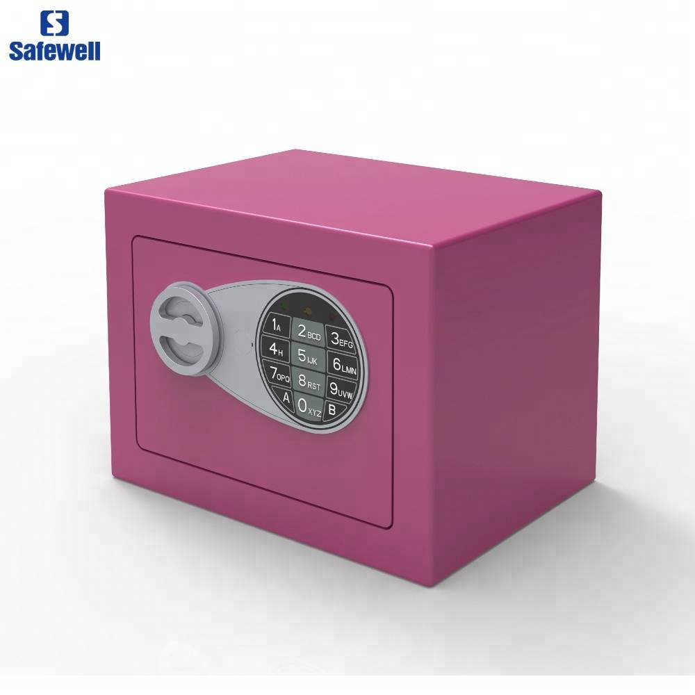 OEM manufacturer Electronic Digital Cheap Safes - Safewell 17SY Colorful Small Electronic Safe Box – Safewell