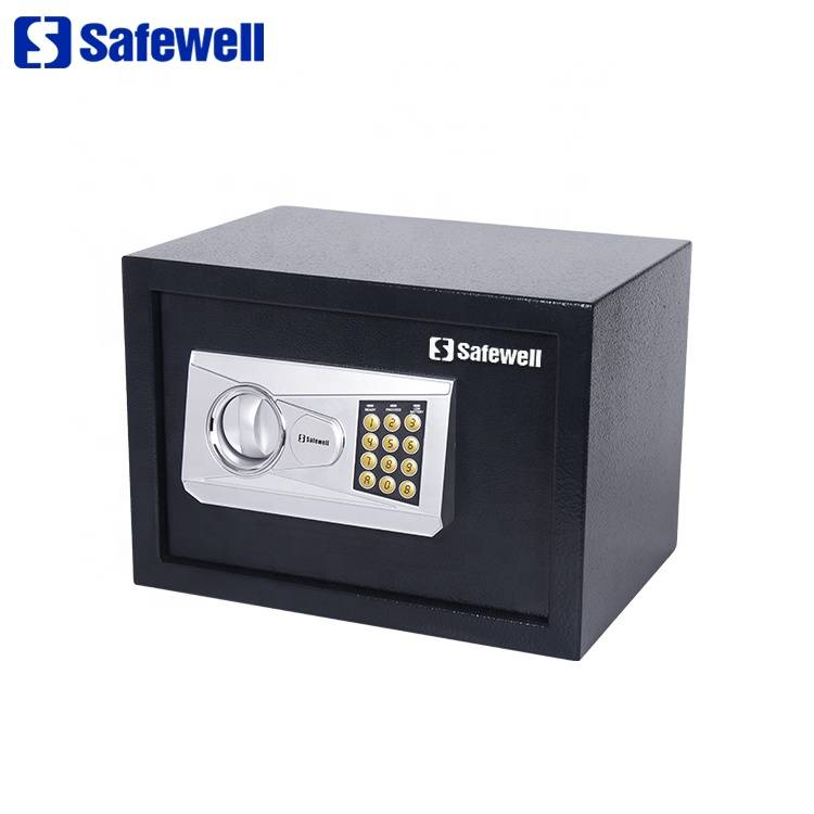 Rapid Delivery for Fire Resistant Office Use Fireproof Safe - Safewell 25NEA mini money electronic safe box – Safewell