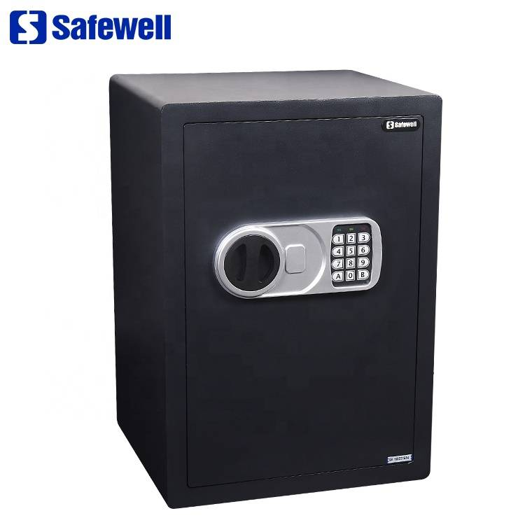 OEM Customized Safes For Computer - Safewell 50SZ Security Box For Office Or Home Use Money Safe Box Deposit er – Safewell