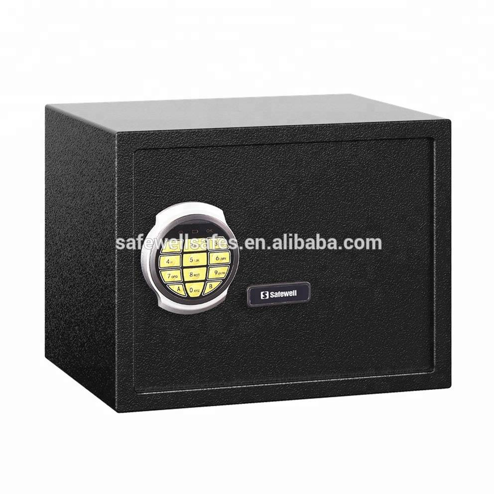 Factory Supply Mini Portable Steel Cash Box - Safewell 30SO Electronic Security Safe Box – Safewell