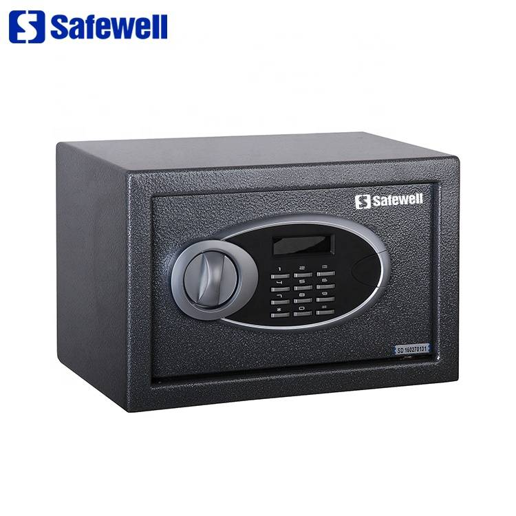 Taxanaha EUD Safewell LCD digital electronic muujiyaan Code Safe Box Office for Home