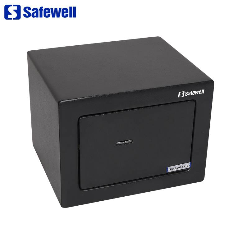 Discount wholesale Small Metal Cheap Fireproof Safe Box - Safewell 150BK High Quality Hotel Guest Room Bedroom Safe box – Safewell