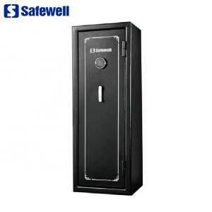 Safewell FS24C / E Partihandel Heavy Duty Anti-Fire Gun Safe vapen Skåp för 24 Guns