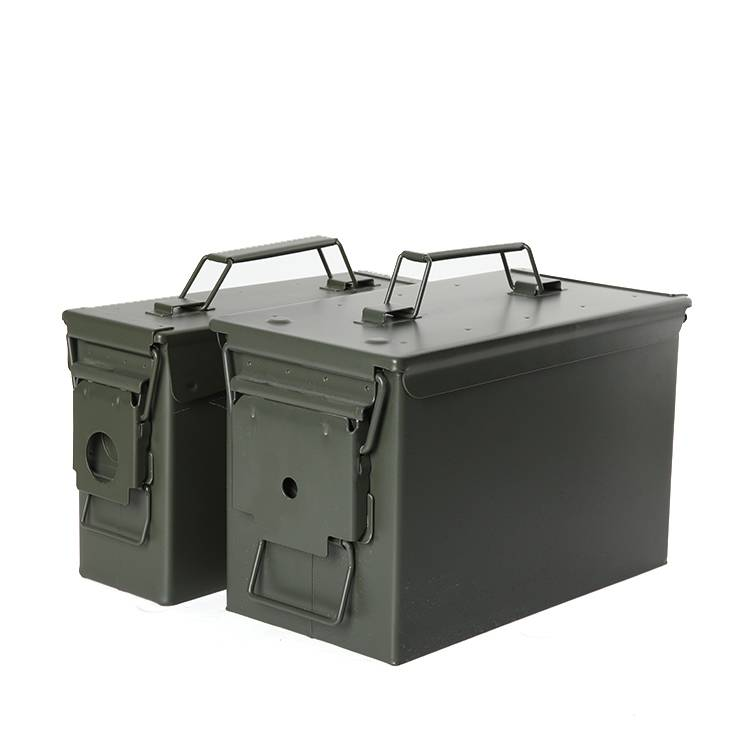 OEM Manufacturer Hotel Safes - Safewell AMMO 3050 Army Green Bullet Waterproof Metal M2A1 Gun 50 And 30 Ammo Can Tool Box – Safewell