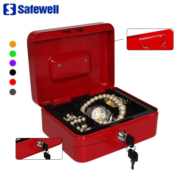 Top Suppliers Electronic Hotel Fire Safe Box - Safewell YFC-25 small euro safe cash box with lock – Safewell