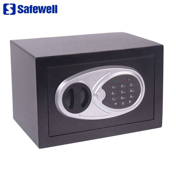 Factory making Small Mini Smart Big Large Safe - High definition Mini Hotel Password Steel Deposit Electronic Digital Safe Box – Safewell