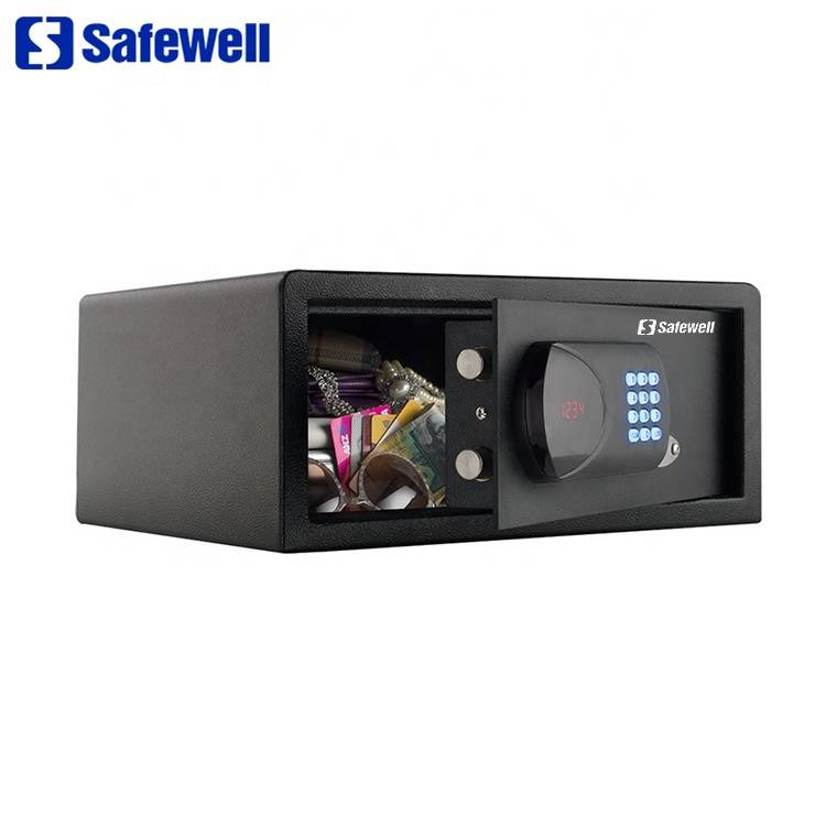 China Cheap price Steel Metal Safes - Safewell 195RG 26 L Digital Electronic Key Small Money Safes Box – Safewell detail pictures