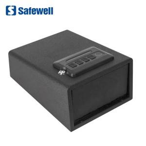 Safewell PS1701F Quick Access 4-6 Digit Code Biometric Fingerprint Handgun Safe Box