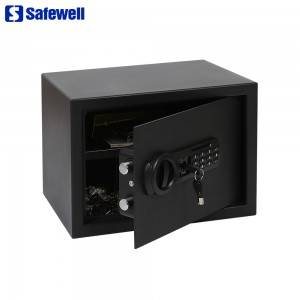 Wholesale Discount Big Fireproof Jewelry Hotel Room Safe - New Safewell SAQ Series electronic digital Code Safe Box – Safewell