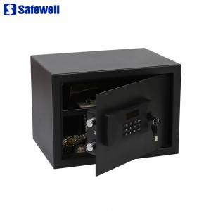 New Safewell SAS Series Slide Open lantarki LCD nuna Code Safe Box