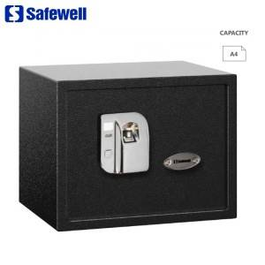 100% Original Factory Hostel Office Use Electronic Cabinet  Safe - Safewell FPJ Series Biometric Fingerprint Safe for Office – Safewell