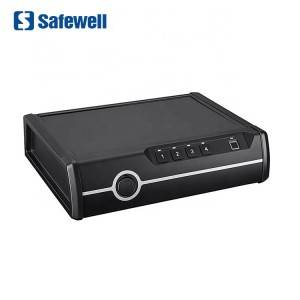 Safewell P2EF Akses Gancang Biometric Fingerprint Hand Gun Box Aman