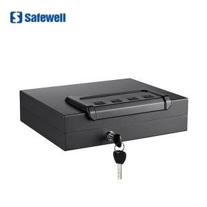 Safewell PS75EF Gun Fingerprint Box Biometric Security Handgun Safe For Home&Office
