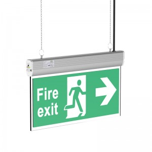 Emergency LED Exit Light DSW-296