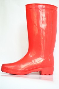 Fashionable women  natural rubber gumboots custom  Folding soft gumboot lining in india