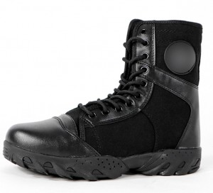 Newly Arrival Army Jungle Black Leather Tactical Combat Military Boot
