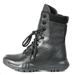 Leather egypt jungle military  combat  boots other police military boots army