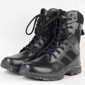 Suede leather material kenya army military safety boots