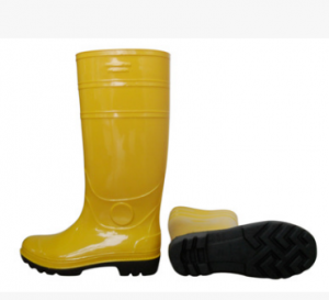 High Knee Rain Boots Factory used Pvc Waterproof Boots Food Factory Seafood Factory boots safety shoes  FB-E0103