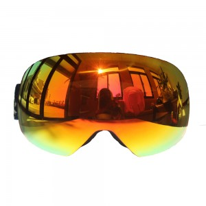 Hot selling snowboard frameless outdoor snow glassesski goggles SG-012