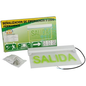 OEM LED Fire Evakuering Indikator Emergency Sign Afslut Lys (297) 297