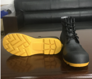 New type sell pvc rain boots safety shoe FB-E0501