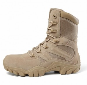 CE Certificate Men's special forces super light breathable outdoor combat army desert boots