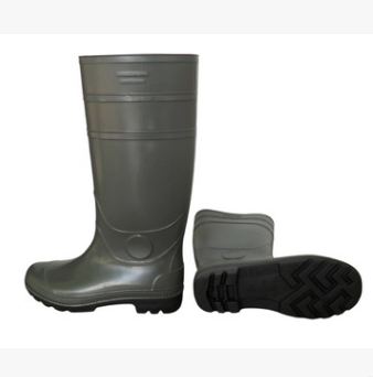 High Knee Rain Boots Factory used Pvc Waterproof Boots Food Factory Seafood Factory boots safety shoes  FB-E0103 Featured Image