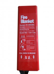 Fire Blanket 1.8*1.8 Meter Wite Color