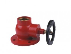 Oblique Thread Flange Fire Hydrant valve