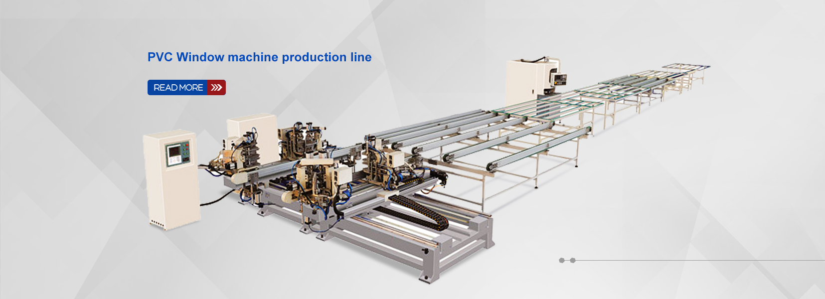 PVC Window machine production line