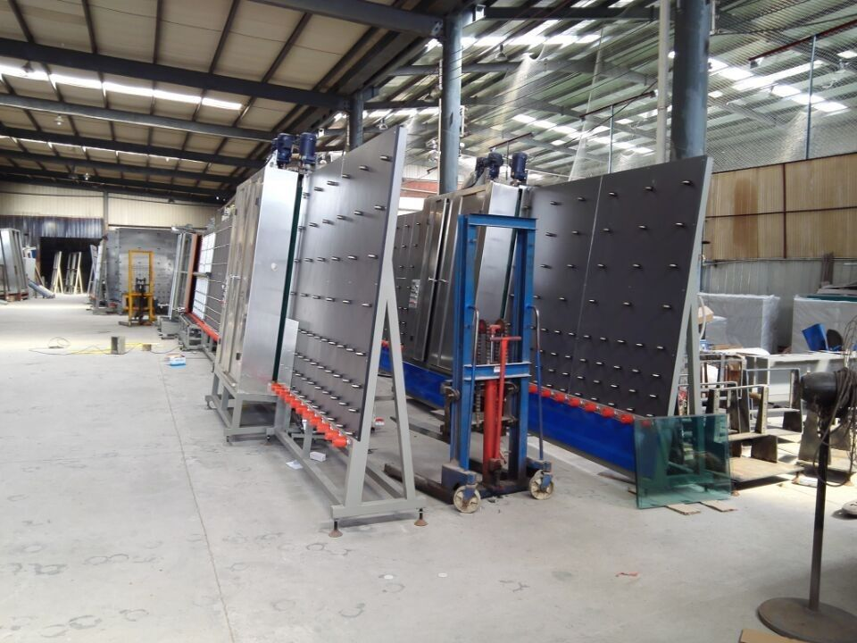 Curtain Wall Insulating Glass Machine / double glazing manufacturing equipment