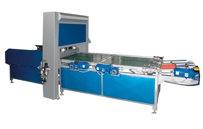 Automatic Mosaic Glass Breaking Machine With SIEMENS PLC Control 30x30mm Max Size,Mosaic Glass Breaking Machine