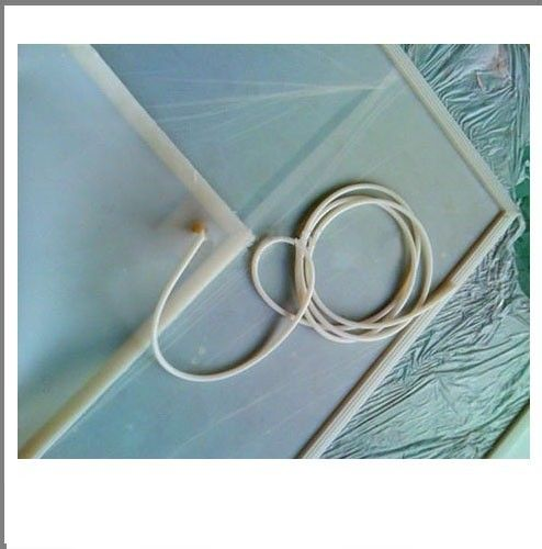 Glass Laminating Machine Silicone Vacuum Hose For Vacuum Bag White Color