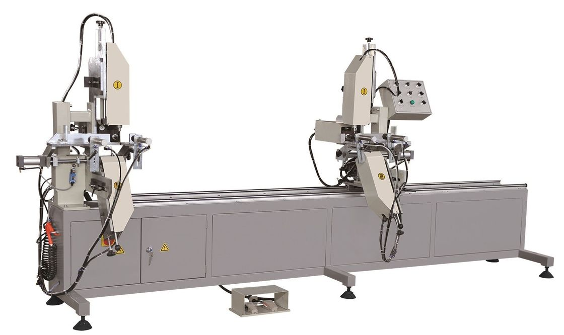 Two Axis Automatic Slot CNC Router Milling Machine , Vinyl Window Door Machinery 30mm Slot Depth