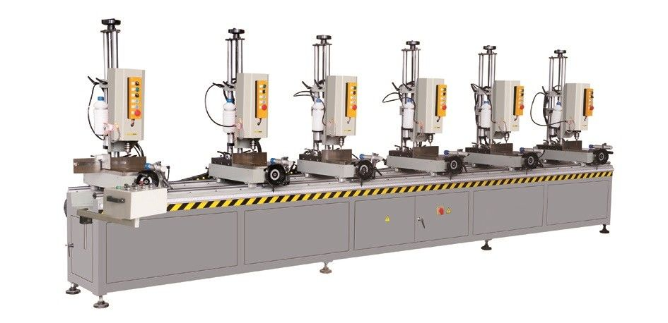 Aluminium Window Multi Spindle Drilling Machine/ Aluminum Window Making Machine Six Head Drilling Machine