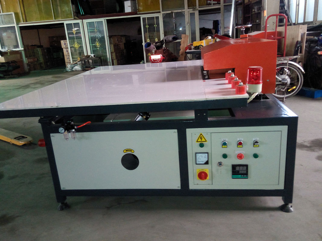 Single Side Heated Roller Press Machine for Insulating Glass / Double Glazing