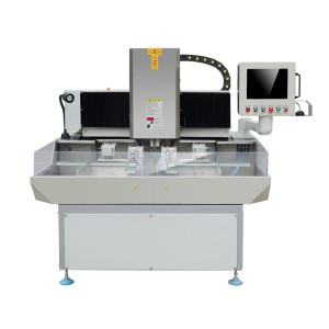 Single Head CNC Glass Corner Edging Polishing Machine,Glass Corner CNC Grinding Machine,CNC Glass Corner Edging Machine