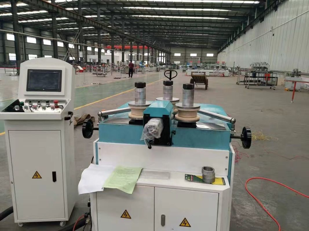3 Axis CNC Aluminum Roll Bending Machine / Aluminum Profile Curved Bending Machine for  Aluminium Windows