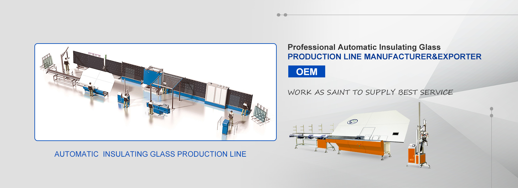 Professional Automatic Insulating Glass Production Line Manufacturer & ekisipota
