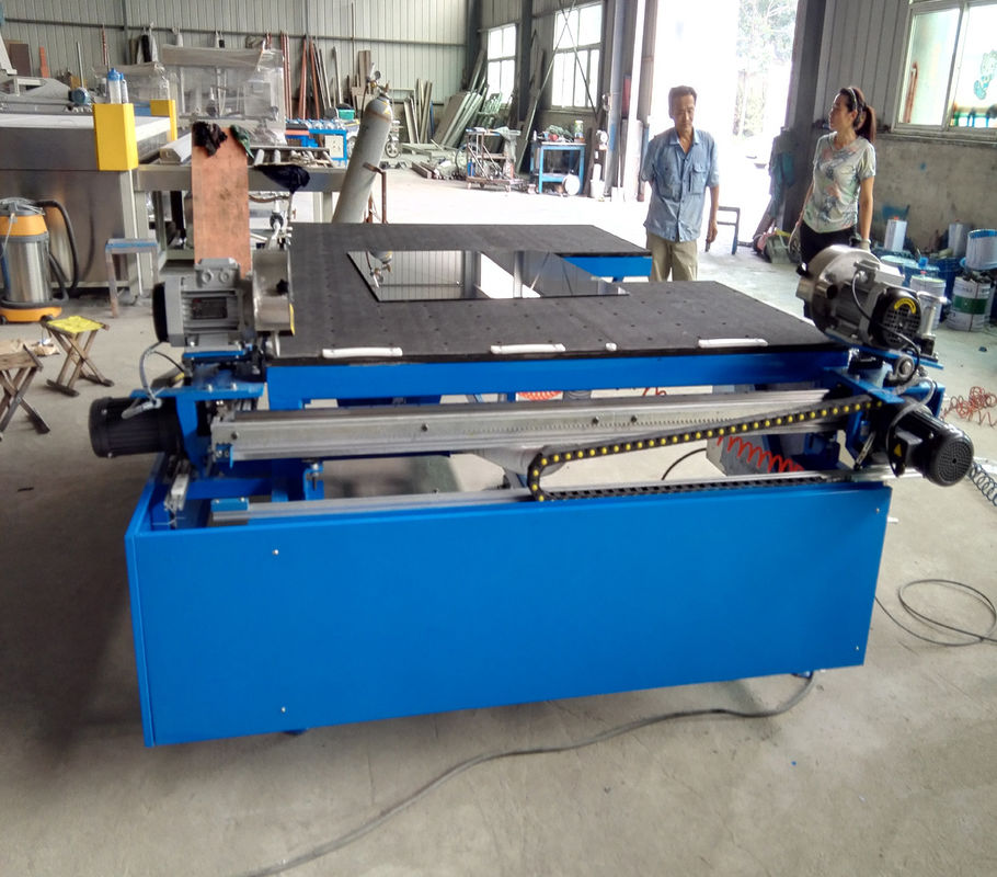 Horizontal Dual Head Low-E Glass Edge Deleting Machine Double Glazing Equipment